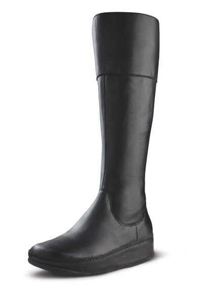 CHARLEY BOOT BLACK LEATHER
