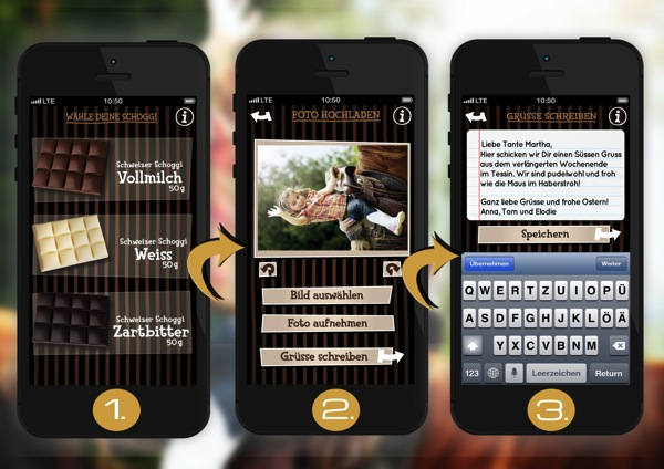 Beautyblogch Chocogreets App Süsse Grüsse Einfach Per Handy