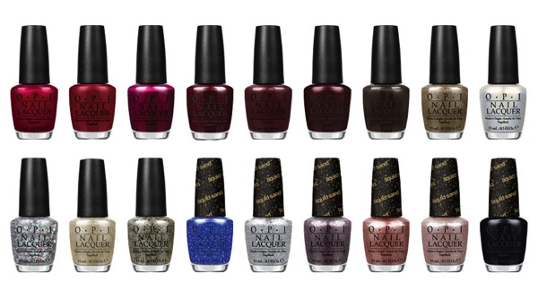 OPI Christmas Collection xMas 2013