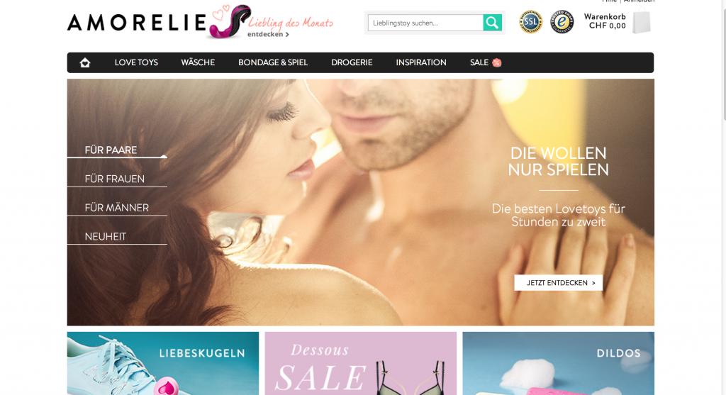 Amorelie   Dein Erotikmarkt in der Schweiz fuer noch mehr Spass