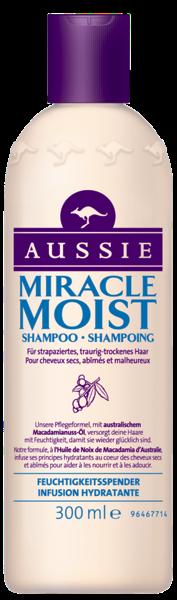 AUSSIE Shampoo 300ml Miracle Moist