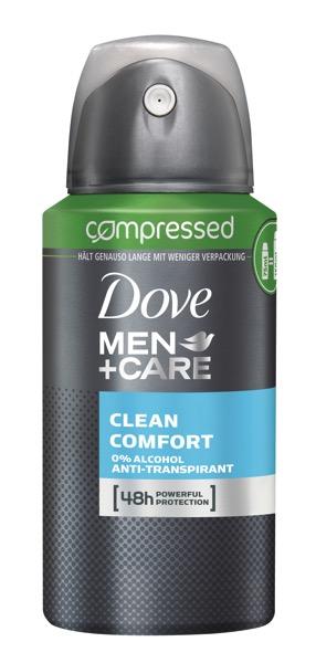Dove Clean Comfort Comp 75ml